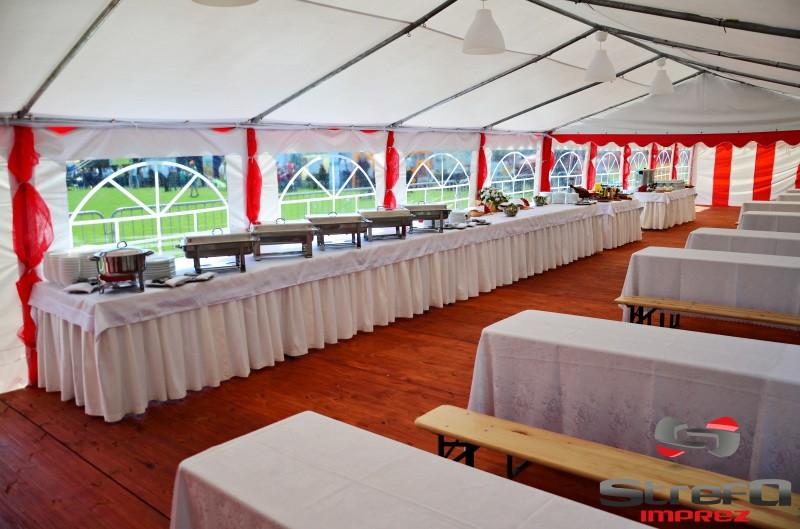 Wyposażenie namiotu VIP